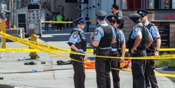كندا : 9 قتلى و16 مصاباً بحادث تورونتو
