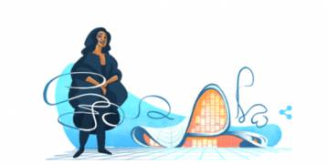"""""""غوغل"""" يخلد الذكرى الأولى لرحيل زها حديد"""
