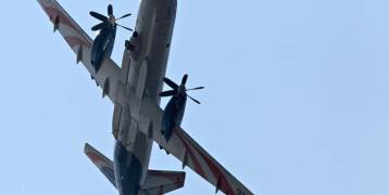شاهد بالصور: ظهور أحدث طائرة حرب إلكترونية في سوريا