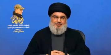 بالفيديو: نصر الله: قادرون على اقتحام الجليل وسندمر آليات الاحتلال أمام الشاشات