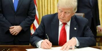 البيت الأبيض يعلن عن موعد توقيع ترامب  أمره التنفيذي الجديد بشأن الهجرة