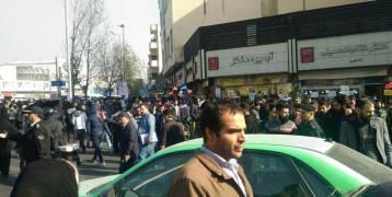 قتيل جديد...و يوم خامس للانتفاضة الإيرانية