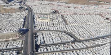 مشعر منى.. أكبر مدينة خيام في العالم