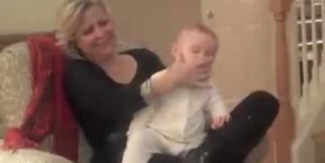فيديو:تنويم طفلك بدقيقة