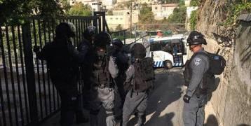 القدس: قوات الإحتلال ستخلي منازل الفلسطينين لمرور موكب ترامب
