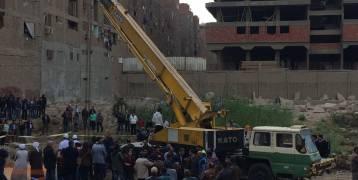 بالصور.. انتشال تمثال رمسيس الثاني العملاق بالقاهرة