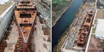 """بناء سفينة مُطابقة لـ""""تيتانيك"""" بـ125 مليون جنيه إسترليني"""