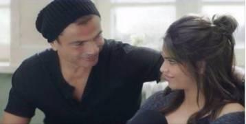 """بالفيديو: عمرو دياب يطرح """"معاك قلبي"""" بمناسبة عيد الحب"""