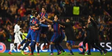 برشلونة أبرز المرشحين للفوز بالأبطال..بعد إنجازها المعجزة