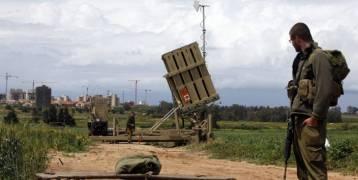 جيش الاحتلال الإسرائيلي يعزز القبة الحديدية تحسبا لتدهور الأوضاع