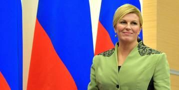 ما لا تعرفونه عن الرئيسة الكرواتية التي خطفت الأضواء في مونديال روسيا