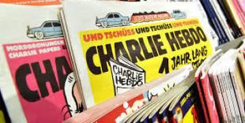 """صحيفة """"شارلي إيبدو"""" تعيد نشر رسوم كاريكاتير للنبي محمد عليه السلام"""