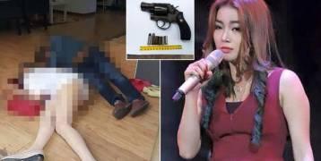 """كمبودية : بالصور.. زوج غيور يفرغ مسدسه في نجمة """"ذا فويس"""" وينتحر"""
