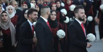 عرس وطني جماعي لأبناء الأجهزة الأمنية......تحت رعاية وحضور الرئيس محمود عباس