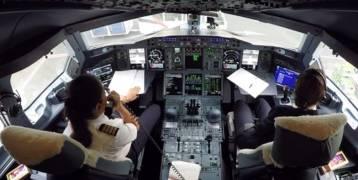 """فيديو:""""علياء"""".. أصغر امرأة تقود طائرة """"إيرباص"""" عملاقة"""