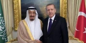 السعودية ,,الملك سلمان يؤكد لاردوغان : حريصون على علاقاتنا مع تركيا الشقيقة