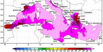 مناخ : البحر الابيض المتوسط على صفيح ساخن،