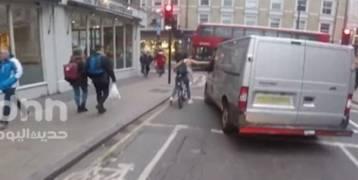 """""""هذا ما تستحقه أيها الحثالة"""".. انتقام فتاة تقود درَّاجة من سائق تحرَّش بها يثير الإعجاب على فيسبوك"""
