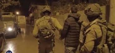 جيش الاحتلال يعتقل 9 مواطنين من الضفة