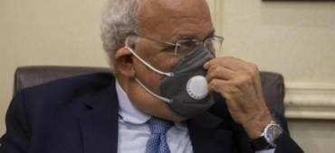 تطورات الوضع الصحي لأمين سر اللجنة التنفيذية لمنظمة التحرير صائب عريقات