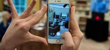 تطبيق وحيد على هاتف الرئيس الأميركي ترامب