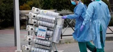 ترتيبات لتوريد كميات من الأكسجين المخصص لمصابي كورونا بغزة