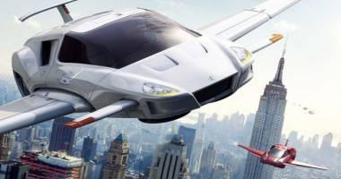 سيارات طائرة في نهاية عام 2017!