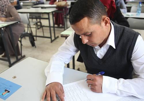 أكثر من 47 ألف متقدم يتوجهون اليوم لامتحان الوظائف التعليمية بغزة