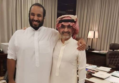 اجتمع رجل الأعمال السعودى الوليد بن طلال، مع ولي العهد السعودى الأمير محمد بن سلمان