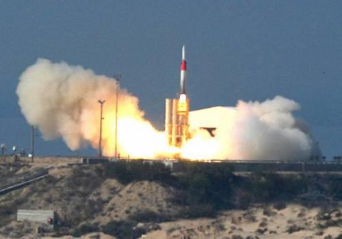 """الاحتلال يجري تجربة ناجحة لمنظومة """"حيتس-3"""" المضادة للصواريخ......بالاشتراك مع واشنطن"""