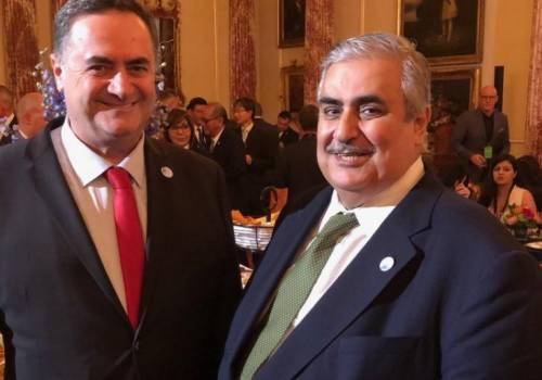 """رسالة """"لشعب اسرائيل """" يوجها وزير خارجية البحرين"""