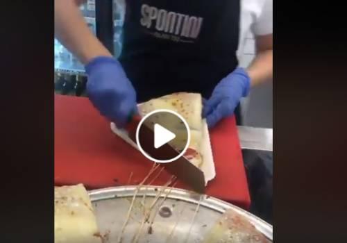 البيتزا الإيطالية الأصلية  في مدينة ميلان الإيطالية