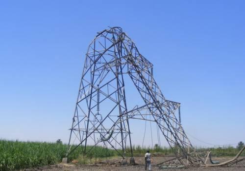 مصر : سقوط 6 أبراج كهرباء في قنا بسبب سوء الأحوال الجوية