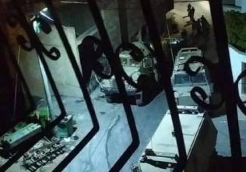 """الاحتلال يقتحم """"يعبد"""" ويغلق غرفة في منزل الأسير نظمي أبو بكر بالإسمنت"""