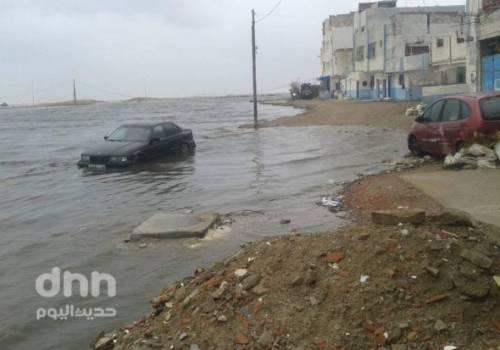 شاهد … ميني تسونامي يضرب مدن الشمال بالمغرب