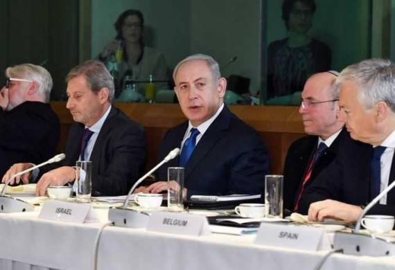"""في أول زيارة إلى الاتحاد الأوروبي.. نتانياهو يتلقى """"صفعة مقدسية"""""""