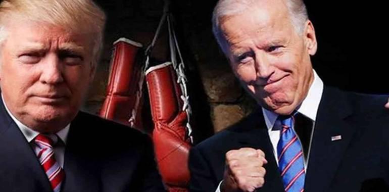 ترمب يدعو بايدن للانسحاب من السباق الرئاسي