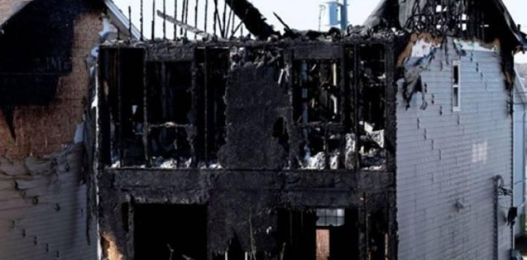 انتهاء حياة سبعة أطفال سوريين من عائلة واحدة في حريق منزل