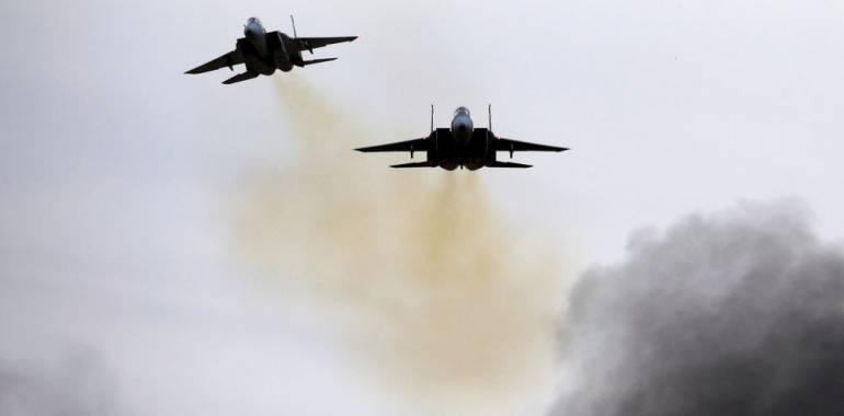 أصابات و  15 قتيلا ايرانياً بقصف اسرائيلي على سوريا