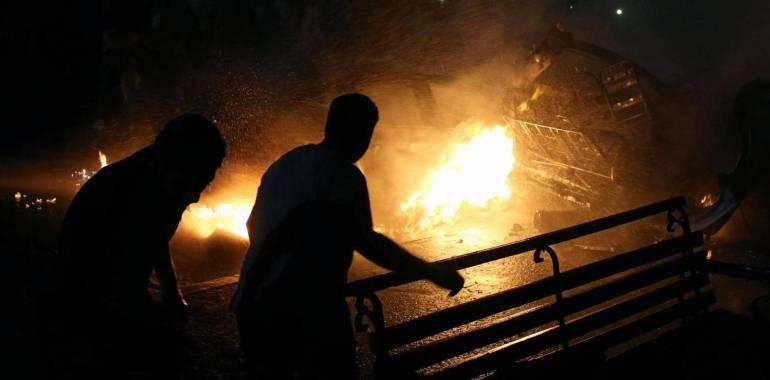 مشاهد من موقع الكارثة.. ماذا حدث في قلب القاهرة؟